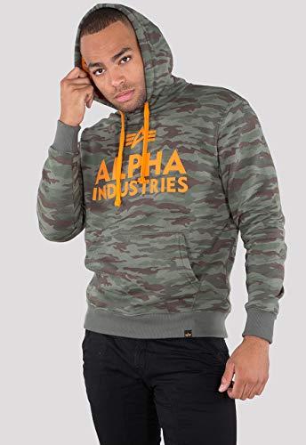 Alpha Industries Herren Hoodies Foam Print Camouflage 3XL