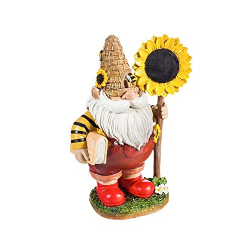 Garden Gnome Ornaments Resin Gnome Decoration Gnome Statue Craft for Home BedRoom Garden Yard Outdoor Decoration Gift