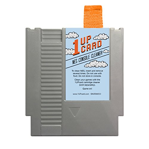 Video Game Console Cleaner Compatible With NES (Nintendo Entertainment System) by 1UPCard