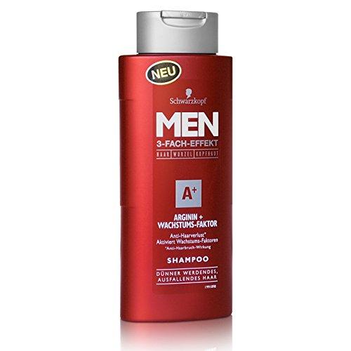 Schwarzkopf MEN Arginin + Wachstums-Faktor Shampoo 250ml