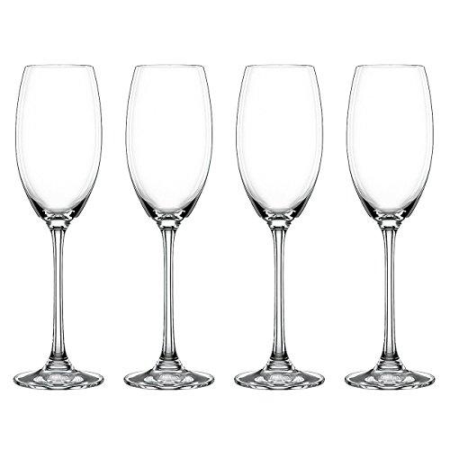Nachtmann - Champagnerkelch Vivendi Sektglas 236mm 178ml Sekt Champagner Empfang Glas Sektempfang - 4x1St