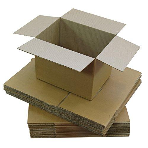 Triplast TPLBX10SINGL9X6X6 - scatola di cartone a parallelepipedo per spedizione postale, piccola, 229x 152x 152mm