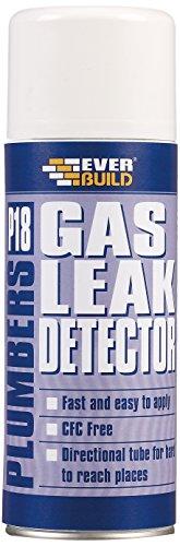 Everbuild P18GASLEAK P18 Plumbers Gas Leak Detector 400ml