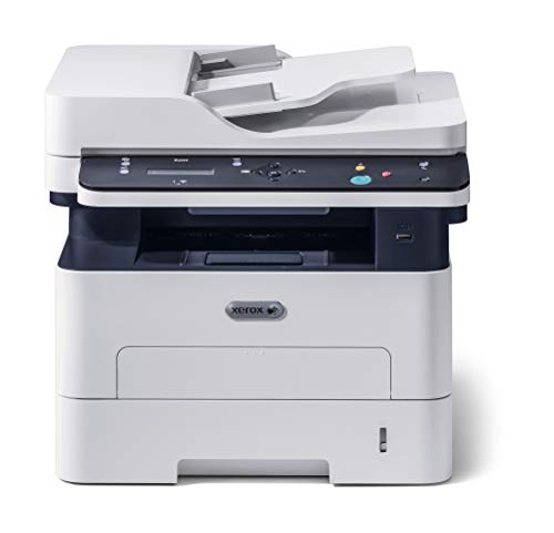 Xerox B205_NI A4 30ppm Black and White (Mono) Wireless Laser Multifunction Printer - Copy/Print/Scan ,White/Blue