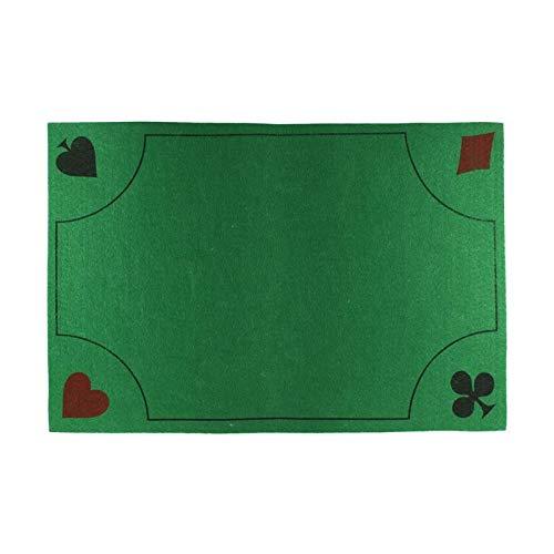 1 TAPIS DE JEUX EPAIS 40 X 60 CM CARTE POKER BELOTE GUINCHE LUXE ANTIDERAPANT
