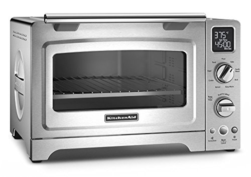 KitchenAid KCO275SS Countertop Oven, 12-Inch, Stainless Steel (Renewed)