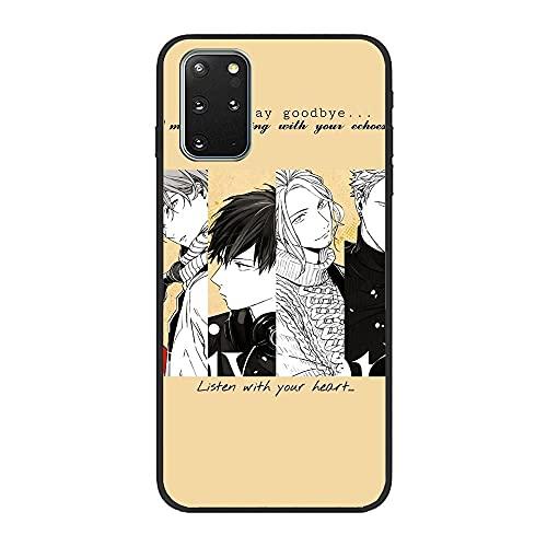 Slim Matte Black Coque TPU Thin Liquid Crystal Case Cover For Samsung Galaxy S20 Plus-Japan Given-Music 5