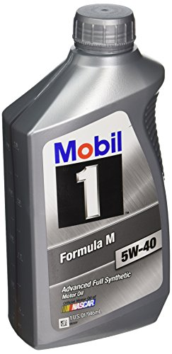 Mobil 1 122094 5W-40 Formula M Motor Oil - 1 Quart Bottle 6 Pack