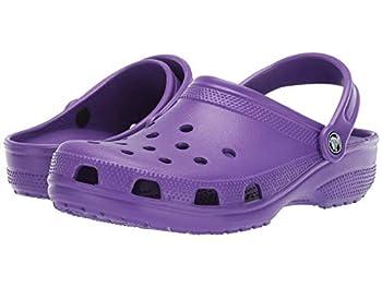 Crocs Unisex Men s and Women s Classic Clog Neon Purple 8 Women/6 Men