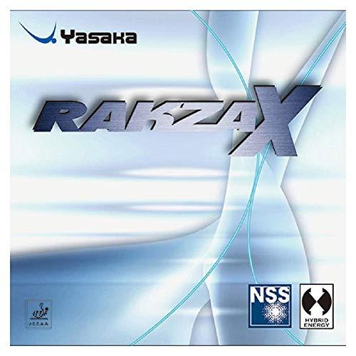 Sale!! Yasaka Rakza 7 Table Tennis Rubbers (Red, Max)