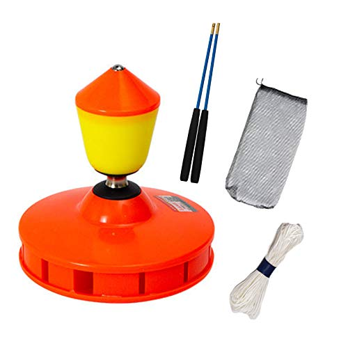 Bearing Diabolo Set, Chinese Yoyo Toy with Carbon Sticks, Can emit Light, Optimal Play and Performance by Juggle Dream