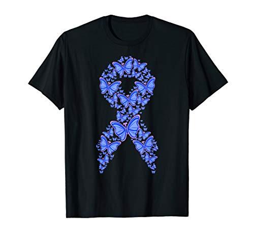 Colon Cancer Shirt Colorectal Cancer Awareness Month Gift T-Shirt