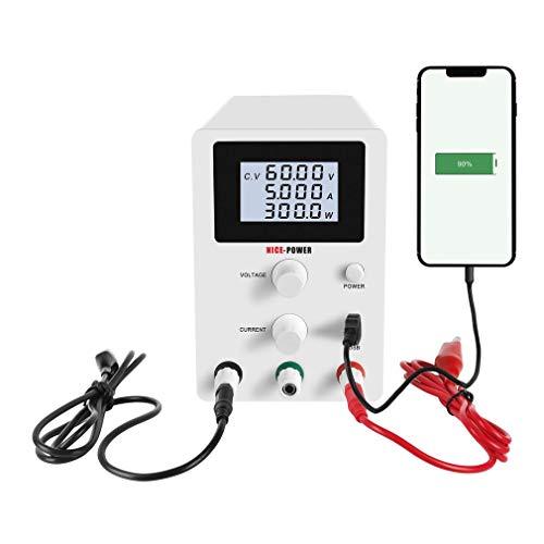 SISHUINIANHUA USB DC Labor 60V 5A Lab Stromversorgung Geregelte Adjustable 30V 10A Spannungsregler Stabilisator Schalt Bank Quelle
