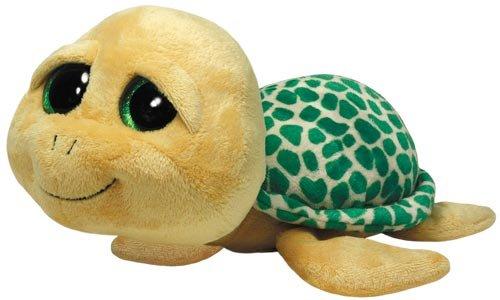 TY 7136997 - Pokey Buddy - Schildkröte, Beanie Boos, Large, 24 cm, gelb/braun