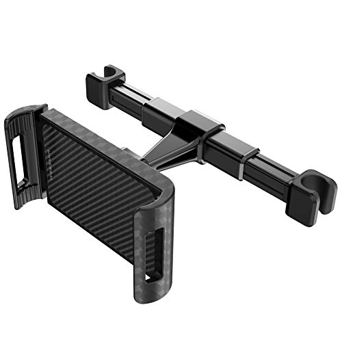 Longzhuo Auto Hoofdsteun Tablet Mount, Metalen Tablet Houder Universele 4-11 inch Standaard voor Iphone/Sumsung