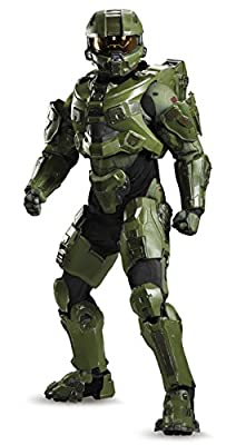 Disguise Men's Halo Master Chief Ultra Prestige Costume, Green, Medium from Disguise Costumes