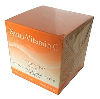 Nutri-C2 Nourishing Night Cream with Vitamin C and Collagen 1.7 OZ Anti- Aging