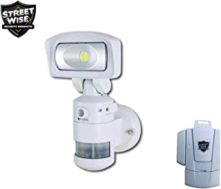 Nightwatcher Robotic LED Security Light w/Camera- with Free Bonus Gift- Mini Window Alarm