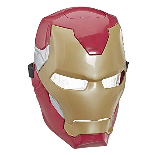 Hasbro Marvel Avengers- Avengers Iron Man Flip FX Maschera, Multicolore, S, E6502EU4