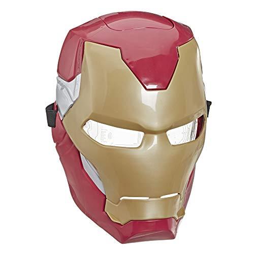 Marvel Avengers Iron Man elektronische Maske mit Lichteffekten für Kostüme und Rollenspiele