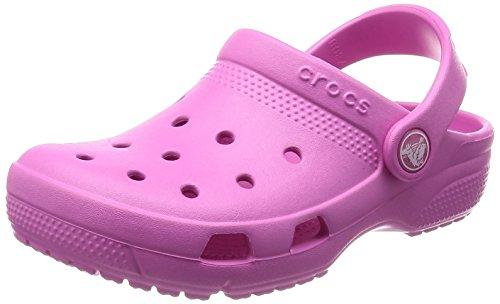 Crocs Coast Clog K, Sabots Garçon Mixte Enfant, Rose (Party Pink 6u9), 29/30 EU