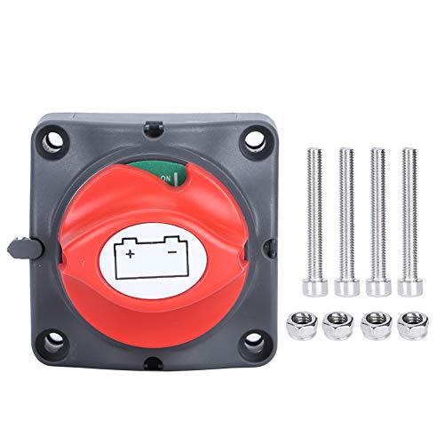 SANON Interruptor de Corte de Energía de Batería de 12V- 60V Interruptor de Desconexión de 2 Posiciones Interruptor Maestro Reemplazo para Automóvil/Vehículo/Rv/Barco/Marino