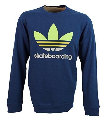 adidas Originals Skateboarding ADV Clear Fill Crew Sweater , Größe:XL
