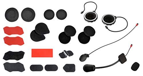 Sena 10R-a1000 - Kit de Accesorios para Auriculares e intercomunicadores Bluetooth de Motocicleta de bajo Perfil 10R
