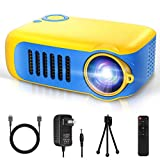 Mini Projector, Itari Portable LED Pico Video Projector for Cartoon, Movies, Small Pocket Home Phone Projector for Home Theater Outdoor Movies Projector with Laptop HDMI USB Interfaces