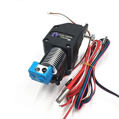 Printer Accessories 1Set Asemmbled BMG extruder + V6 HOTEND Dual Drive Extruder fit for DIY Ender 3,Wanhao,Prusa I3,Blv 3D printer. (Color : BMG 24V Bore 4.1mm)