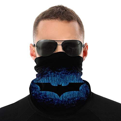 Batman, calentador de cuello multifuncional, bufanda, bandana, diadema