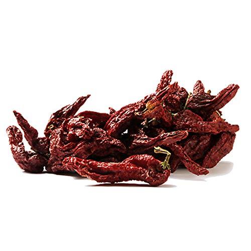 Peperoni cruschi da friggere di Senise - 2 confezioni x 70 gr (foto n.2) - ECCELLENZA LUCANA - peperone secco 100% lucano