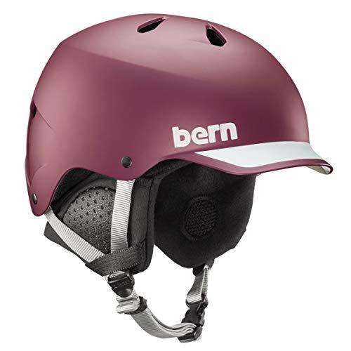 Bern Watts EPS Helm, Matte Burgundy, m