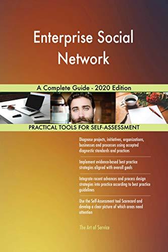 Enterprise Social Network A Complete Guide - 2020 Edition (English Edition)
