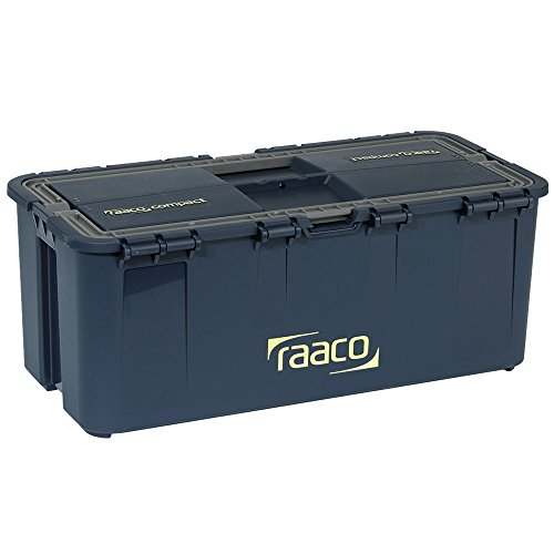 raaco 136563 Werkzeugkoffer Compact 15, dunkelblau