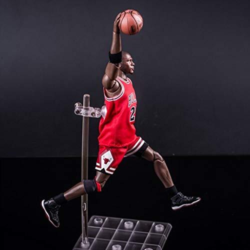 ZRY NBA Michael Jordan Action-Figur Bulls Jersey Modell populäre Karikatur-Geschenk-Spielzeug Dekorationen Basketball Sport Puppe Ornamente