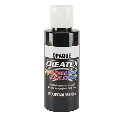 Createx Opaque Black Airbrush Colors Farbe 120ml 12 5211 Schwarz