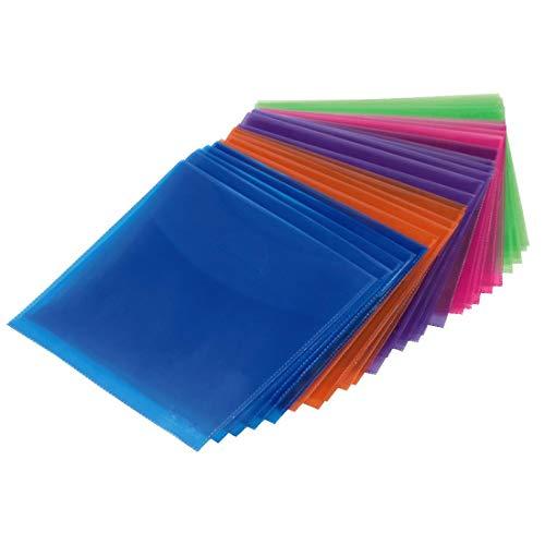 Hama 033801 - Funda de plástico para CD, 50 Unidades