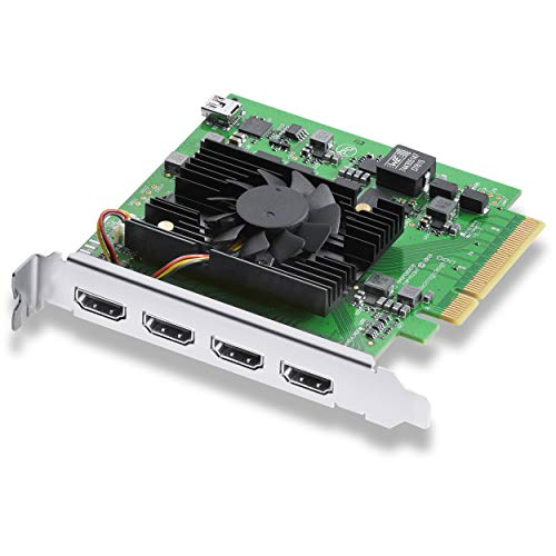 Blackmagic Design DeckLink Quad HDMI Recorder PCIe Card