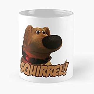 Squirrel Up Dog Dug 11 Oz Coffee Mugs Best Gift For Father Day