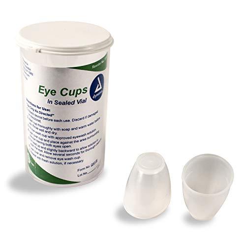 Dynarex Eye Cups in Sealed Vial 6 Cups per Vial