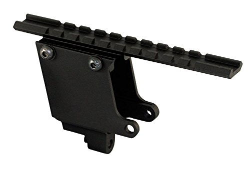 Ultimate Arms Gear Tactical Aluminum No Gunsmithing Weaver Picatinny Rail Pistol Scope Mount For Colt .45 1911 Government Frames & Clones
