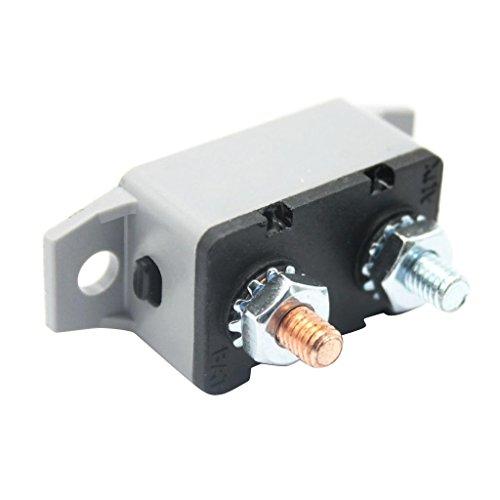 IPOTCH 1 PC. Fusible Del Disyuntor Del Reinicio Automático de 12V, Interruptor de Repuesto - 40A