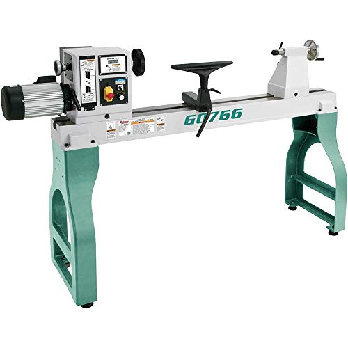 Best Prices! Grizzly Industrial G0766-22 x 42 Variable-Speed Wood Lathe