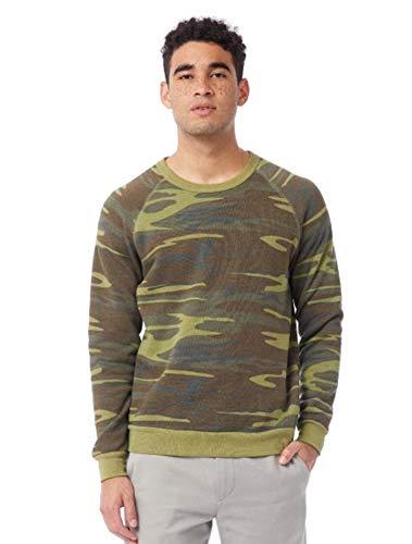 Alternative - Sweat-Shirt - Manches Longues Homme - Vert - Medium