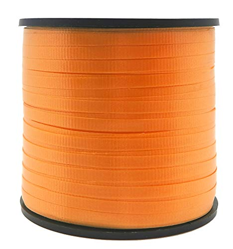 Unique Party 48631 - 90 m de ruban à friser orange