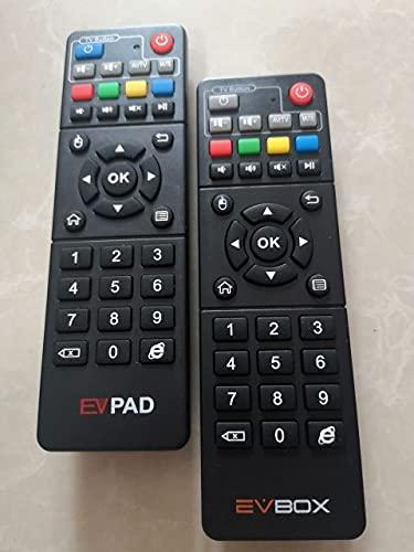 Davitu Remote Controls - Evpad Remote control evpad3/4/5 evpad 5p 6k evpad 3max plus evpad pro 4k evbox 4 evbox evbox 5p +MX3 fly air mouse for android - (Color: ev 3 remote control)