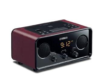 Yamaha TSX-B72DR Desktop Audio System  Dark Red