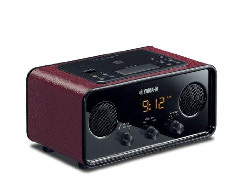 Yamaha TSX-B72DR Desktop Audio System (Dark Red)