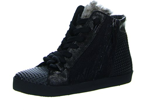 Donna Carolina Damen Sneaker Tess 32402126 004 schwarz 205781